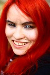 Red Hair (Lauren Mikael Photography) Tags: portrait selfportrait hairdye hair laurenmikael