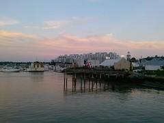 Marina Bay. Quincy Ma (bjustice4) Tags: ocean sunset sky water clouds marina ma quincy boat sail yachts marinabay quincyma