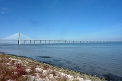 Lisbonne (ZdArock) Tags: bridge portugal river europe lisboa lisbon ponte pont tage tajo lisbonne parquedasnaes fleuve taje vascodegama parcdesnations zdarock