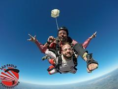 G0064085 (So Paulo Paraquedismo) Tags: skydive tandem freefall voo paraquedas quedalivre adrenalina saltar paraquedismo emocao saltoduplo saopauloparaquedismo