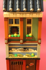 apartment building (OlleMoquist) Tags: ocean sea fish seaweed sushi toy restaurant lego bricks ewok plastic sakura moc toyphotography legobricks legophotography legomodular