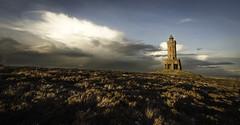 Jubilee tower (Malajusted1) Tags: sunset england west tower jubilee lancashire blackburn moor pennines darwen