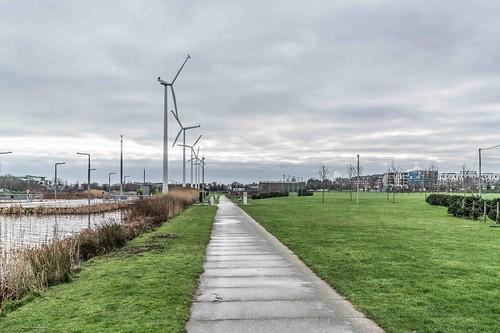 Wind Powered Public Park In Clongriffin Dublin [Father Collins Park]-110987