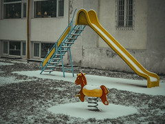 'Til Spring (Marjarah) Tags: winter snow playground