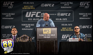 UFC 197 Press Conference