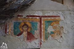 Affresco Eremo di San Bartolomeo in Legio - Majella - Abruzzo - Italy