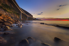 IMG_0327 (fromfoshan) Tags: bridge sunset sea cliff seascape landscape long exposure reverse clifton nisi gnd rgnd