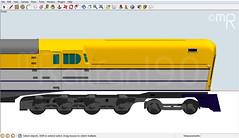 C&O 500 3D Model (MrRailfan190) Tags: electric blw 3d google render steam co works sketchup locomotive 500 baldwin turbine