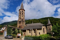 Eglise de Sentein, Couserans, Ariege (thierry llansades) Tags: toulouse ariege pyrnes foix pireneu jeux biros saintgirons pireneos couserans sentein coussetrans