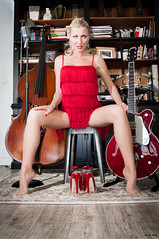 Pin Up Caroline - The Band's Souls (174) (freddy.roma) Tags: red music france sexy love feet stockings beauty up french foot crazy nice toes pin toe dress legs famous leg caroline jazz babe swing talon cover barefoot blonde heels liveband sole pied russian soles pinup gretsch fellows facebook crazyinlove aiguille russe youtube orteils theswing piedsnus cafi psdescalos httpswwwyoutubecomchanneluc6qps8vs3hsuwfauqhyr1a theswingfellows freddyroma pinupcaroline