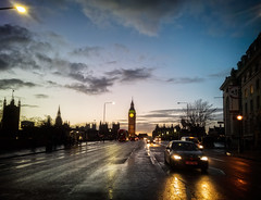 Westminster Bridge at Sunset (garryknight) Tags: street sunset mobile night nokia phone southbank westminsterbridge londonlightroom lumia930 ononephoto10