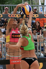 604_DxO_R.Varadi (Robi33) Tags: show summer game sport ball court switzerland sand play action competition basel victory player beachvolleyball international block umpire viewers