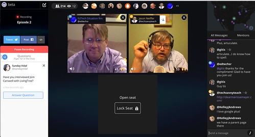 EdTech Situation Room on Blab.im by Wesley Fryer, on Flickr