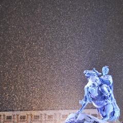 (Katja Ivanchenko) Tags: christmas schnee snow statue ukraine kiev