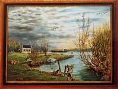 IMG_0923 (3) (Kopie) (Rhoon in beeld) Tags: schilder schilderij adriaan rhoon veerhuis veerweg albrandswaard voorberg