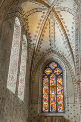 Mariakyrkan interior (Stefan Sjogren) Tags: architecture cathedral stockholm mosaic paintings walls sveden kyrka sigtuna fnster mariakyrkan