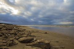 31/366 Sea ice (Una S) Tags: park winter sky ice beach nature water clouds sand waves dune latvia horn latvija jrmala