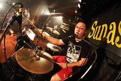 Zん (ウノマサキ) Tags: rock live band fisheye livehouse livephotography 静岡sunash live×life thewemmertourfinal