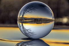 sunset through the glass ball Crystal Ball Canada Coast To Coast Inverted Images NikonLife Enjoying Life Check This Out Taking Photos Nikon D7000 Canada From My Point Of View Out And About Splash Of Colour Ontario, Canada (timmahh67) Tags: ontario canada outandabout crystalball takingphotos splashofcolour enjoyinglife checkthisout invertedimages frommypointofview canadacoasttocoast nikonlife nikond7000