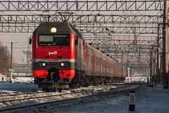EP2K-254 (alexcashman801) Tags: train locomotive passenger novosibirsk transsib rzd ep2k novosibirskzapadnuyi ep2k254