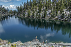 Spring Hiking (acase1968) Tags: california county mountain lake forest swim lens ed nikon pacific lakes smith hike crest case ellie clear trail national d750 pct wilderness nikkor russian siskiyou etna vr afs hough klamath stanek f4g 24120mm