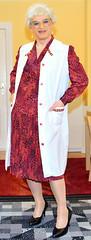 Ingrid021294 (ingrid_bach61) Tags: dress skirt mature pleated kleid kittel nylonoverall faltenrock