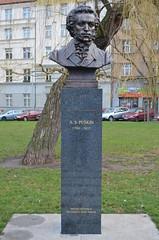 DSC_0166 (ruszarub) Tags: monument prague pushkin
