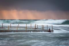 The Swell (Hooked On Light) Tags: sunrise swell monavale rockpool