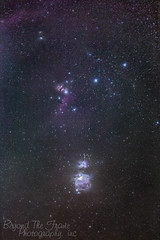 Orion Sword and belt (astrogeekwannabe) Tags: canon belt astrophotography orion sword meade 6d lxd75 70200lisiiusm