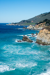 crazy beautiful day (nosha) Tags: ocean california ca blue sea usa seascape water beautiful beauty landscape coast big bigsur shore sur nosha
