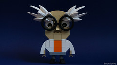 the science teacher (black.zack00) Tags: brick toy lego character science teacher afol professeur