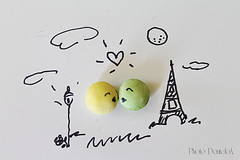 Paris (*ameLIE*) Tags: sky food moon lighthouse white playing paris love me kids clouds fun hope idea crazy funny paint tour candy heart drawing creative dream eiffel smarties mind draw wish cibo disegno parigi sogno disegnare caramelle