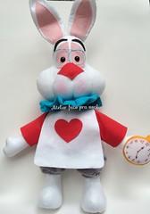 Sr. Coelho (Ana Ribeiro2010) Tags: feltro coelho decorao alicenopasdasmaravilhas srcoelho