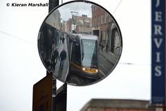 4014 at Jervis, 1/3/16 (hurricanemk1c) Tags: light dublin train rail railway trains lightrail redline alstom railways luas 4014 jervis 2016 citadis