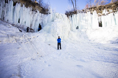 IMG_4088-1 (Domini Brown) Tags: park people ice minnesota portraits wonder outside outdoors togetherness climb frozen waterfall state north minneapolis falls adventure explore kindness candids minnehaha