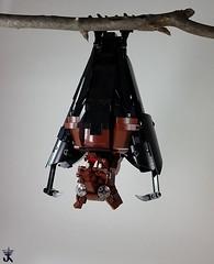 Louis (Norweasel) Tags: animal fruit toy toys lego vampire bat fox hanging