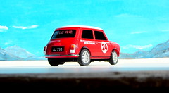 Canned Heat Radio Controlled Mini Cooper By Tyco R/C Mattel Incorporated 1998 : Diorama Boneville Salt Flats - 11 Of 21 (Kelvin64) Tags: by radio salt mini flats cooper heat canned 1998 rc mattel diorama incorporated controlled tyco boneville