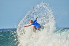 Stuart Kennedy surfing Snapper Rocks (Frank McGrath Photography Australia) Tags: nikon surf waves surfing quiksilverpro goldcoast snapperrocks stuartkennedy quikypro2016