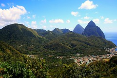 """Saint Lucia"" Caribbean (Lonfunguy) Tags: green unesco pitons soufriere saintlucia simplybeautiful"