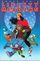 Liberty Meadows 17 Front Cover (zigwaffle) Tags: animals frank humor leslie comicbook brandy ralph truman frankcho libertymeadows insightstudiosgroup