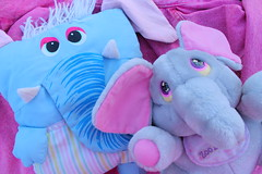 new toy (Vuffy VonHoof) Tags: pink pet baby cute animal animals japan vintage toys japanese zoo cool stuffed doll neon dolls babies pastel ken barbie skipper funky korea retro plush pillow korean crew 80s babys mattel 90s bandai popples maba popelles popeles