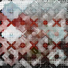Testing: HM Bintang (Star)01 (METAHINGAQ) Tags: art geometric random patterns flash digitalart generative islamic arabesque actionscript codedart
