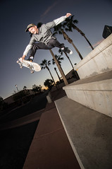 Michael Lash slob (memoryhousemag) Tags: sunset arizona fisheye memoryhousemag backyardskateboards