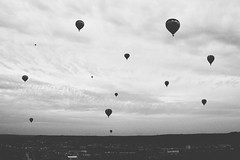 Camille L. Photography (CamilleL.) Tags: white black love beautiful beauty canon landscape photography fly photographie air grain explore ciel nuage paysage ballooning vasion exprience montgolfire paisible 70d