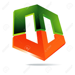 marth_2013 (ramiroortegacasillassantiago777) Tags: orange abstract green sign emblem design 3d pattern symbol icon business part card target letter segment arrow decorate isolated technological