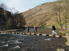Stepping Stones, Dovedale (nuthatch1000) Tags: dale steppingstones