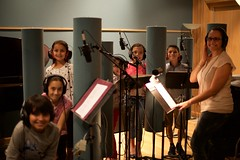 Kids vocal session