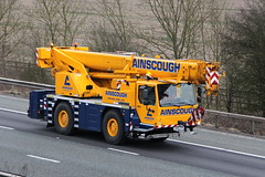 Ainscough Crane 8th March 2016 (1) (asdofdsa) Tags: motorway transport vehicle trucks m62 haulage hgv mobilecrane ainscough 8thmarch2016