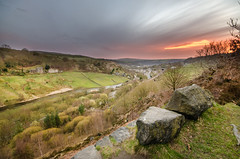 (Glen Parry Photography) Tags: trees sunset grass landscape nikon rocks todmorden sigma1020mm calderdale d7000 glenparryphotography