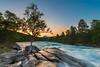 Mountain Bliss (explored) (Kenneth Solfjeld) Tags: mountain tree norway rock river norge rocks stream saltdal helgeland nordland meltwater saltfjellet northernnorway utdoors